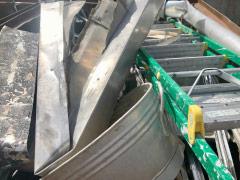 Aluminium mit Anhaftung